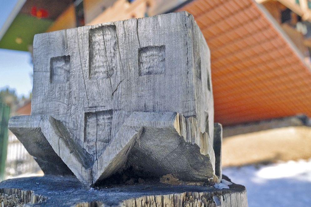 Symbolisch Brunthaler BaumHaus: Haus am Kopf