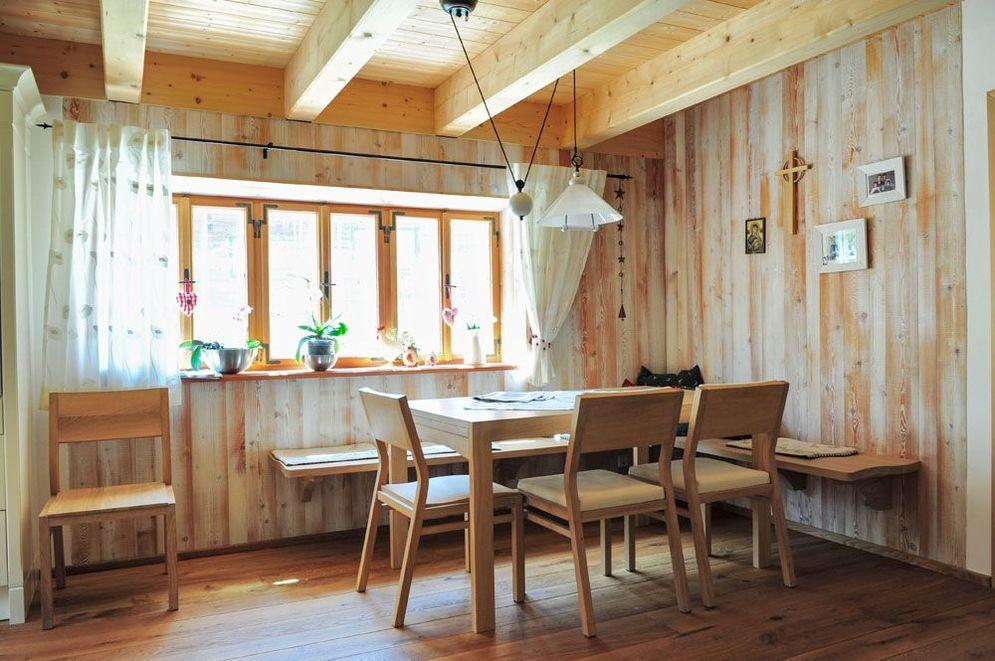 Essbereich © Brunthaler Massivholzhaus