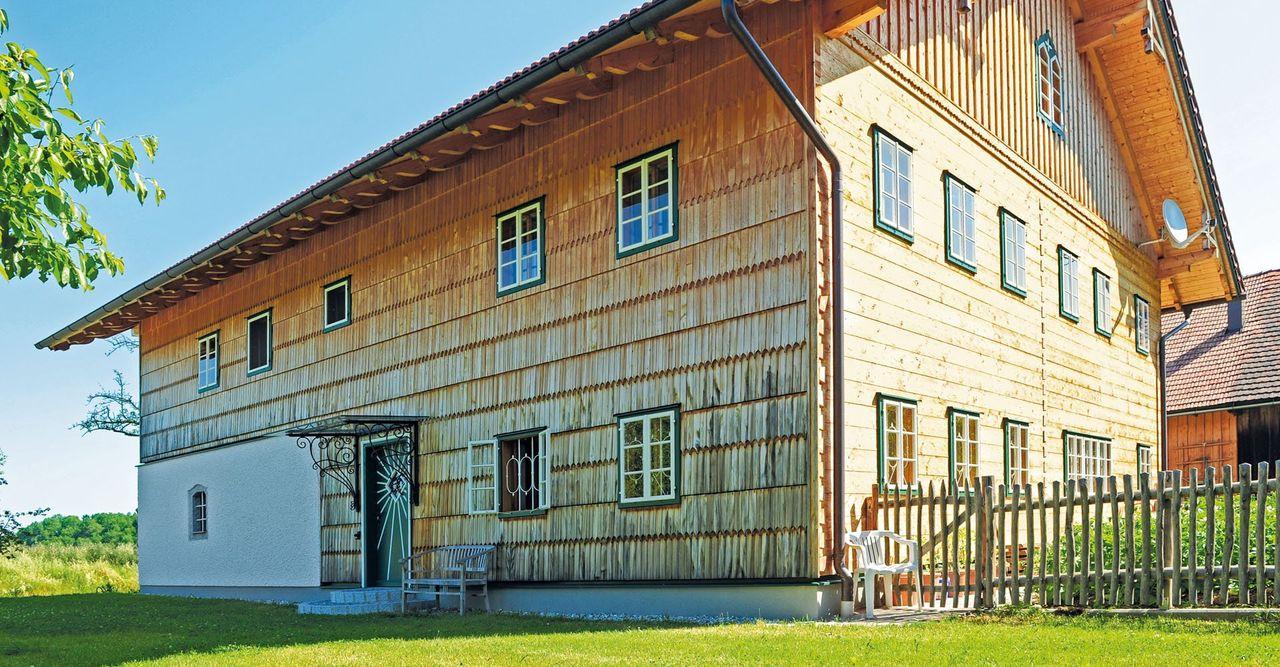Holzhaus Fur Generationen Brunthaler Massivholzhaus