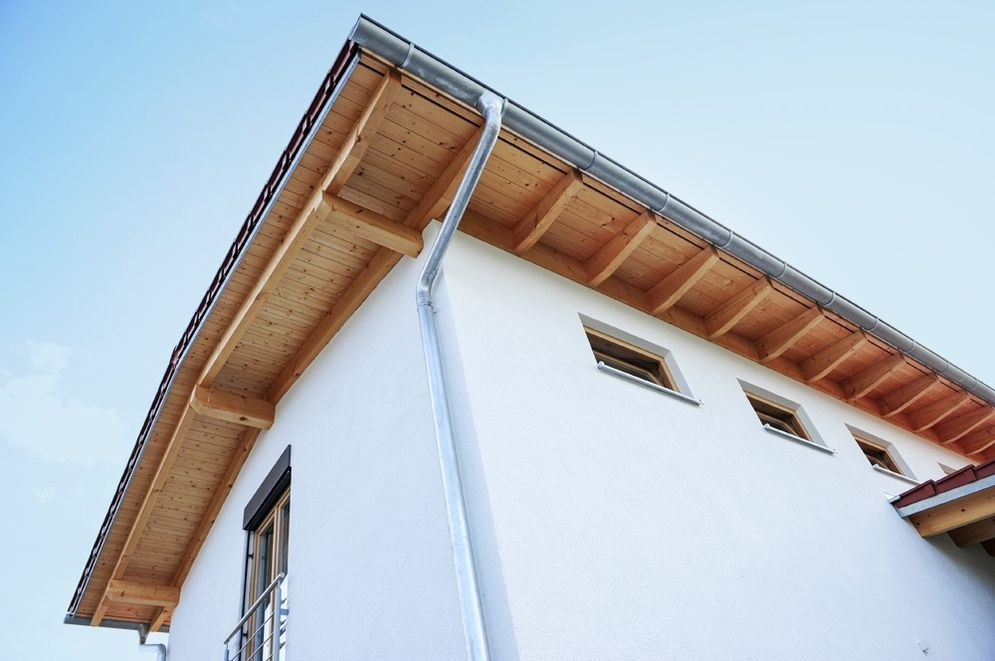 Dachbalken © Brunthaler Massivholzhaus