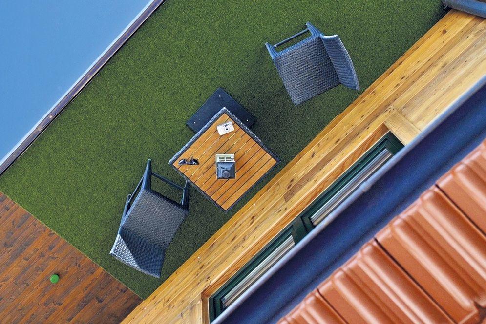 Detailansicht Terrasse
