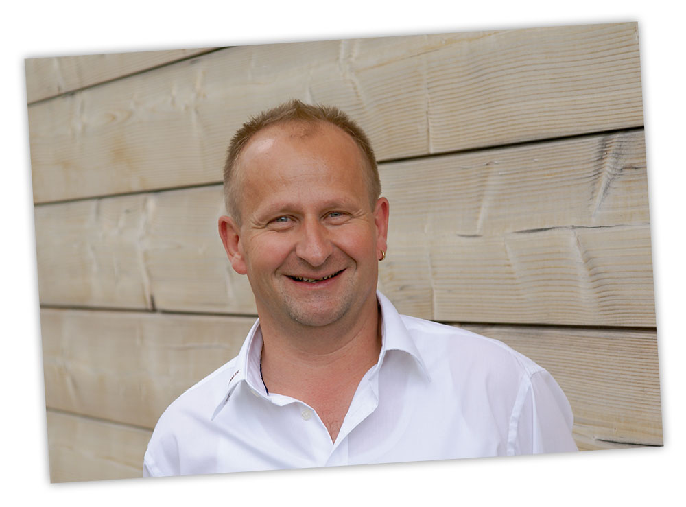 Der Gebietsverkaufsleiter Roland Krause